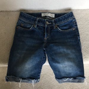 Girl old navy Jean shorts